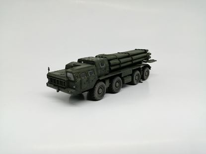 Picture of Russia BM-30 Smerch(9K58)multiple rocket launcher, green, 2000s